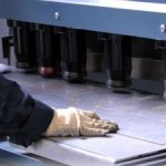 Раскрой листового проката на гильотинных ножницах